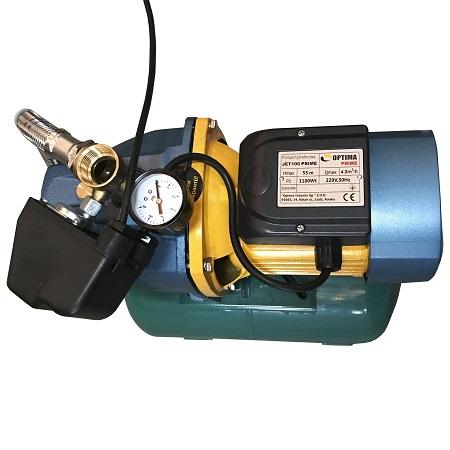 Насосная Станция Optima JET100 PRIME- 24 литра | Интернет-магазин насосного оборудования