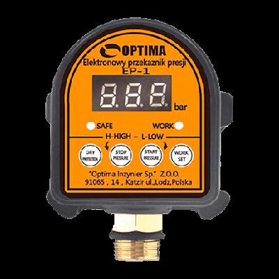 Реле Давление с Защитой Сухого хода Optima - EP1 | Интернет-магазин насосного оборудования